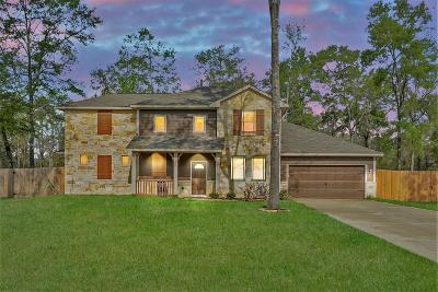 Conroe Single Family Home For Sale: 9134 Whitetail Drive S