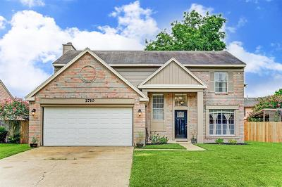 Pearland Single Family Home For Sale: 2710 Holly Springs Drive
