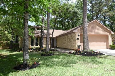 The Woodlands TX Single Family Home Option Pending: $199,900