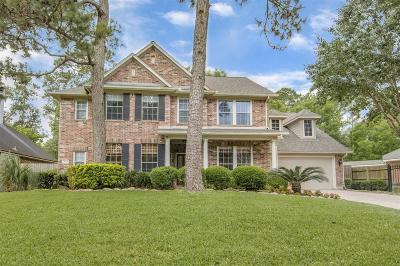Kingwood TX Single Family Home For Sale: $343,000