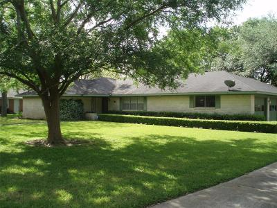 Alvin Single Family Home For Sale: 1313 Highland Drive