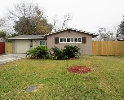 Houston Single Family Home For Sale: 5735 Westover Street