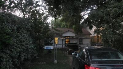 Greater Heights Single Family Home For Sale: 839 W 17th Street