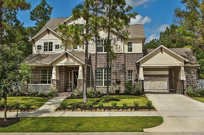 The Woodlands TX Single Family Home For Sale: $775,000