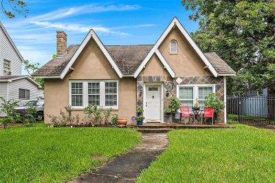 Houston Single Family Home Pending: 3345 Wichita Street