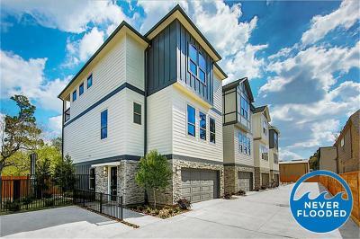 Houston Single Family Home For Sale: 851 Fisher Street #D