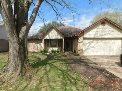 Sugar Land Single Family Home For Sale: 2618 Radcliffe Drive