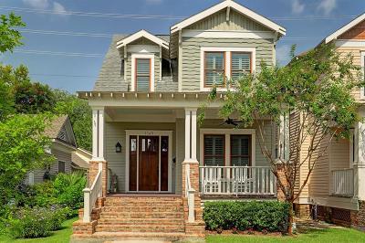 Houston Single Family Home For Sale: 1245 Waverly Street