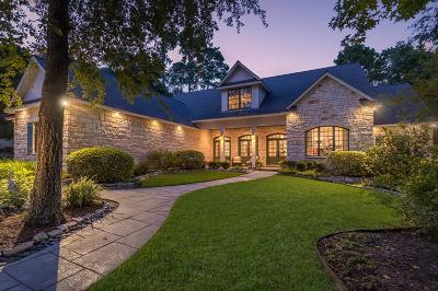 The Woodlands Single Family Home For Sale: 43 W Windward Cove