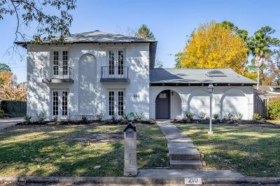 Spring Single Family Home For Sale: 210 Tree Trunk