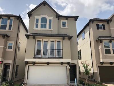 Houston TX Single Family Home For Sale: $346,500