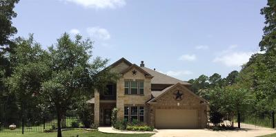 Magnolia Single Family Home For Sale: 21815 Rose Circle