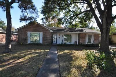 Houston Single Family Home For Sale: 2222 Willowby Drive