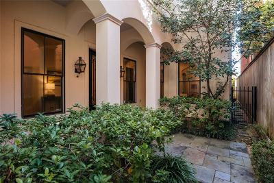 Houston Condo/Townhouse For Sale: 2145 Fairview Street