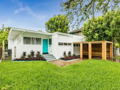 Single Family Home For Sale: 4009 Avenue O 1/2