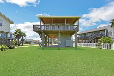 Galveston Single Family Home For Sale: 22813 Buena