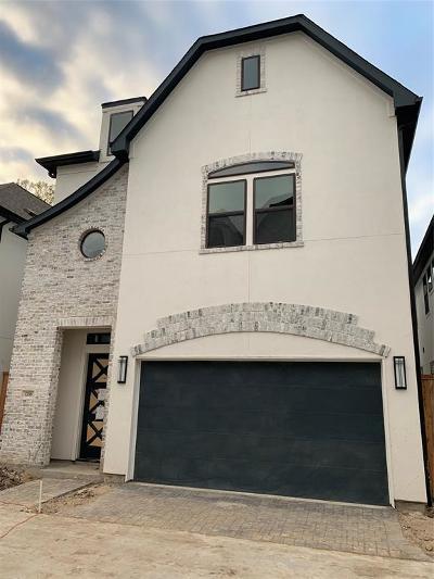 Houston Single Family Home For Sale: 1735 Moritz Drive