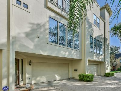 Houston Condo/Townhouse For Sale: 1602 Driscoll Street