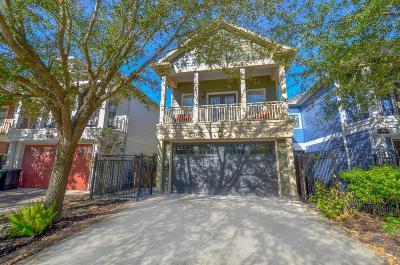 Houston Single Family Home For Sale: 311 E 23rd Street #C