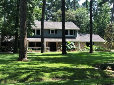 Houston Single Family Home For Sale: 1510 Walnut Lane