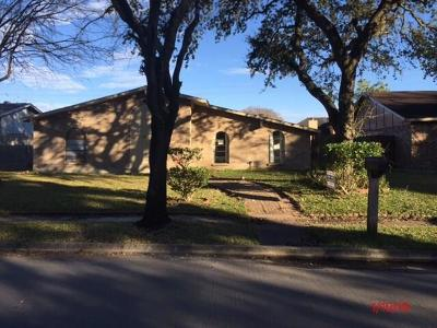 Houston TX Single Family Home For Sale: $119,000