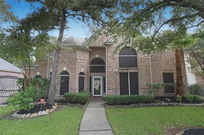 Spring Single Family Home For Sale: 17918 Hampton Oak Drive