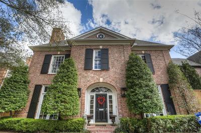 Houston Single Family Home For Sale: 2317 Drexel Drive