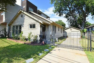 Houston Single Family Home For Sale: 524 Threlkeld Street