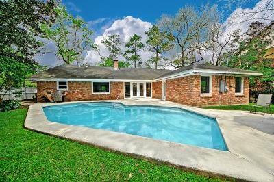 Houston Single Family Home For Sale: 10433 Memorial Drive