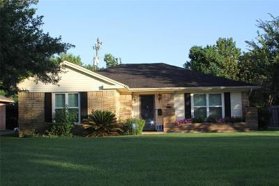 Houston Single Family Home For Sale: 3727 Aberdeen Way