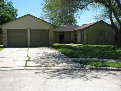 Webster Single Family Home For Sale: 2439 Heritage Bend Drive