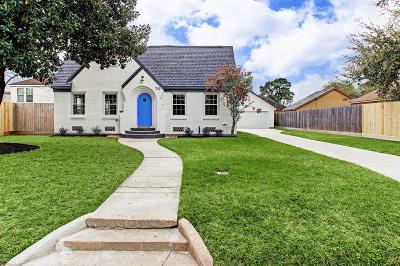 Houston Single Family Home For Sale: 712 Joyce Street