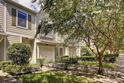 Houston Condo/Townhouse For Sale: 3034 S Heights Hollow Lane