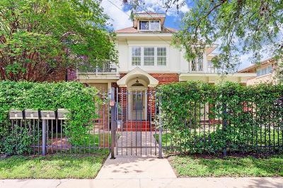 Houston Multi Family Home For Sale: 324 W Alabama Street