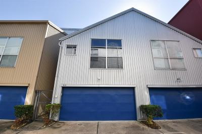 Harris County Condo/Townhouse For Sale: 1613 Tuam Street