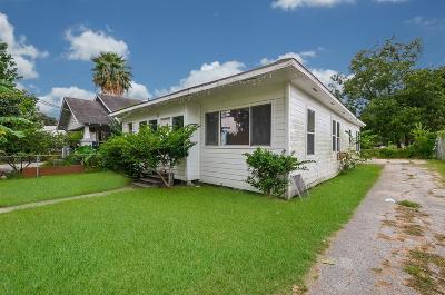 Houston Single Family Home For Sale: 2807 Chapman Street