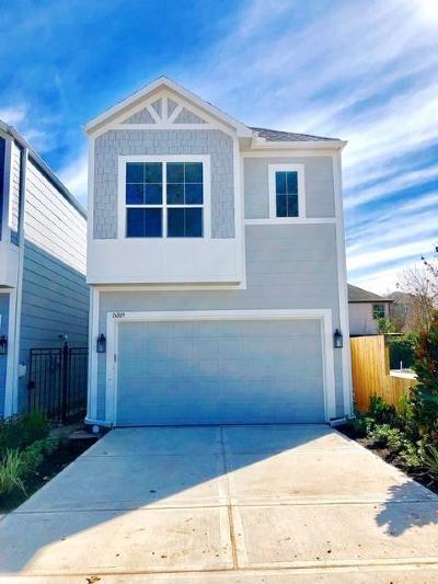 Houston Single Family Home For Sale: 5321 Egbert Street