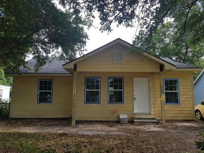 Texas City Single Family Home For Sale: 1209 Abbott Drive