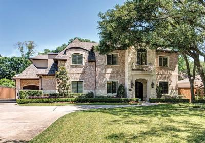 Houston Single Family Home For Sale: 8510 Burkhart Road