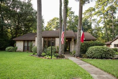 Houston Single Family Home For Sale: 2203 Oak Shores Drive