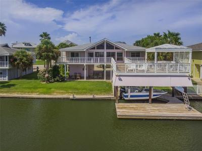 Galveston Single Family Home For Sale: 3513 Christmas Tree Point Road