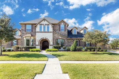 Fulshear Single Family Home For Sale: 6310 E Lakeshore Lagoon Drive
