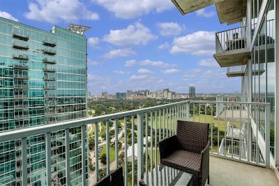 Houston Condo/Townhouse For Sale: 5925 Almeda Road #12312
