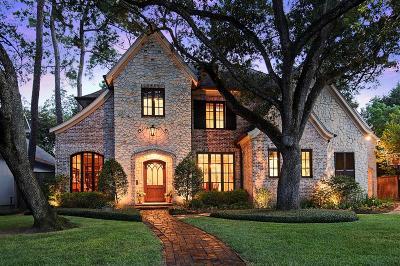 Houston TX Single Family Home For Sale: $2,475,000