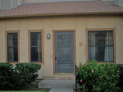 Galveston Condo/Townhouse For Sale: 3700 83rd Street #9