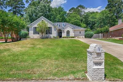Montgomery Single Family Home For Sale: 180 Springs Edge Drive