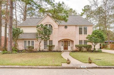 Houston Single Family Home For Sale: 2219 Mountain Lake Drive