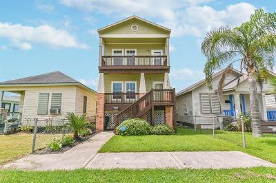 Galveston Single Family Home For Sale: 5007 Avenue M