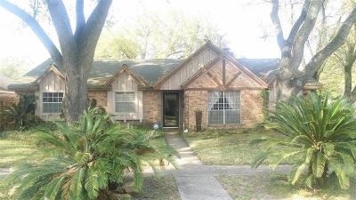 Houston TX Single Family Home For Sale: $299,000