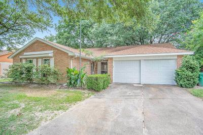 Houston Single Family Home For Sale: 14863 Elkins Road